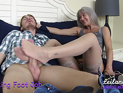 Stockings Foot Job