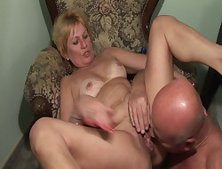 Grandmother loves my cock!