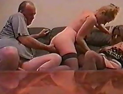 UK fledgling Kelly and a married couple 3some