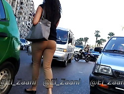 Egyptian tight witness through pants Voyeur - Candid Ass - V04