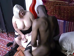 AgedLovE Sarah Jane and Lacey Starr 3 way