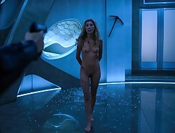 Dichen Lachman',s Naked Fight Scene from Altered Carbon